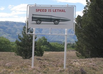 Speed is lethal